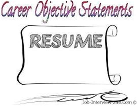 Examples Of Resume Objectives Monsterca